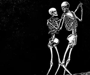 bones, skeleton, and dance image