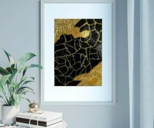 abstract art, ebay, and glitter art image