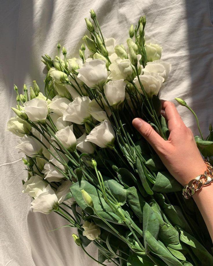 bracelet and flowers image