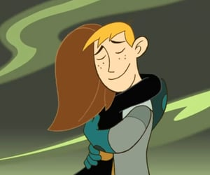 cartoon, hug, and love image