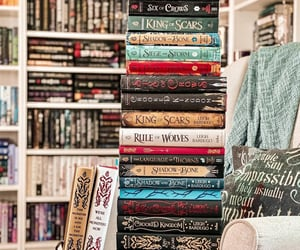 book, grishaverse, and book spines image