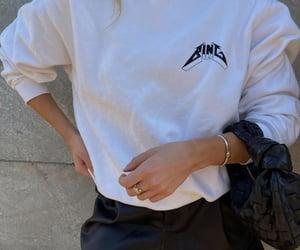 sweatshirt, accessories, and bottega veneta image