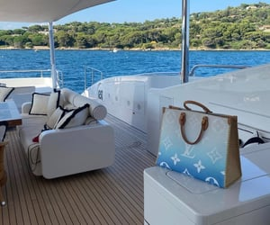 aesthetic, Louis Vuitton, and sea image