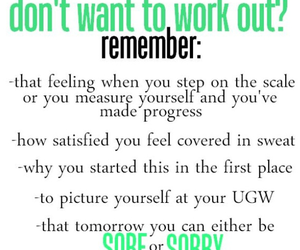 motivation, fitness, and workout image