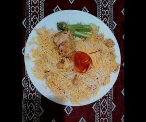 rice, spicy, and foodporn image