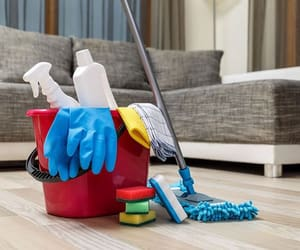 cleaning, home cleaning, and easy to clean house image