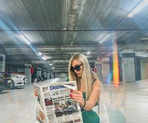 Belgrade, blonde, and photo inspiration image