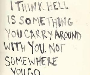 hell, quote, and Neil Gaiman image