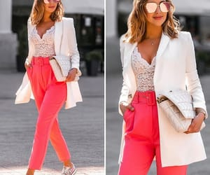 blazer, neon, and outfit image
