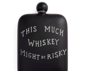 drinking, whiskey, and risky image