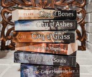 book, book spines, and cassandra clare image