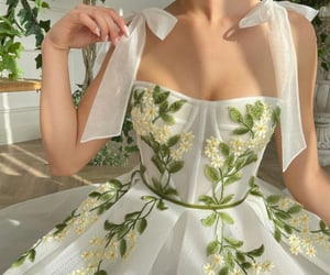 bow ties, daises, and dress image