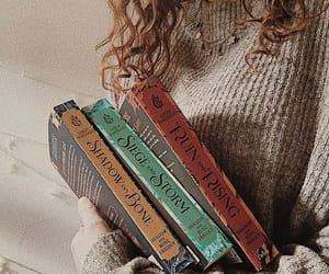 book, grisha, and book spines image
