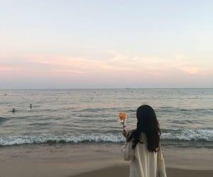 aesthetic, girl, and korean image