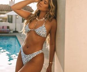 bikini, pool, and blue image