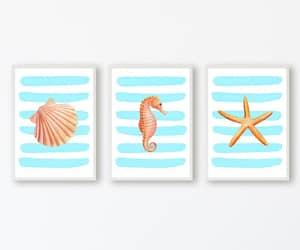 etsy, nautical, and set of 3 image