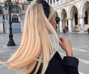 aesthetic, blonde, and hairstyles image