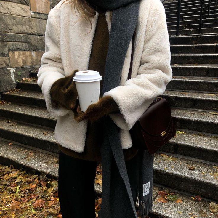 coffee, fall, and fashion image