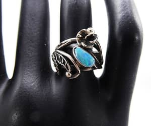 etsy, boho style, and opal jewelry image