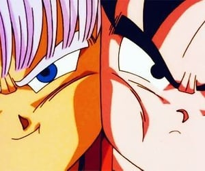 dragon ball, trunks, and dbz image
