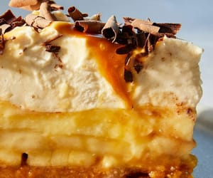 caramel, chocolate, and dessert image