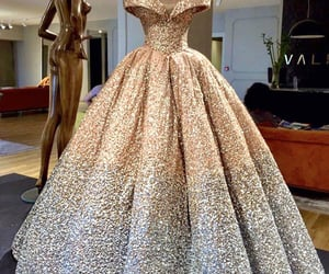 gown, dinner dress, and dinner gown image