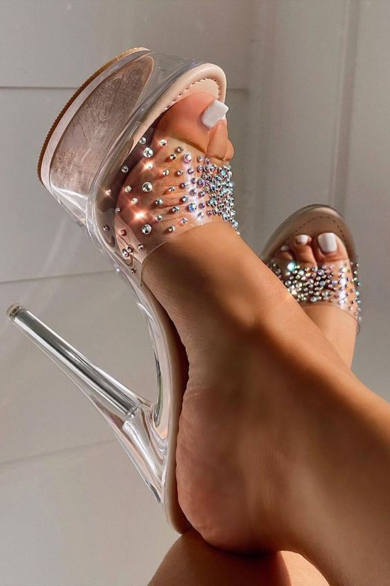 accessories, heels, and fashion image
