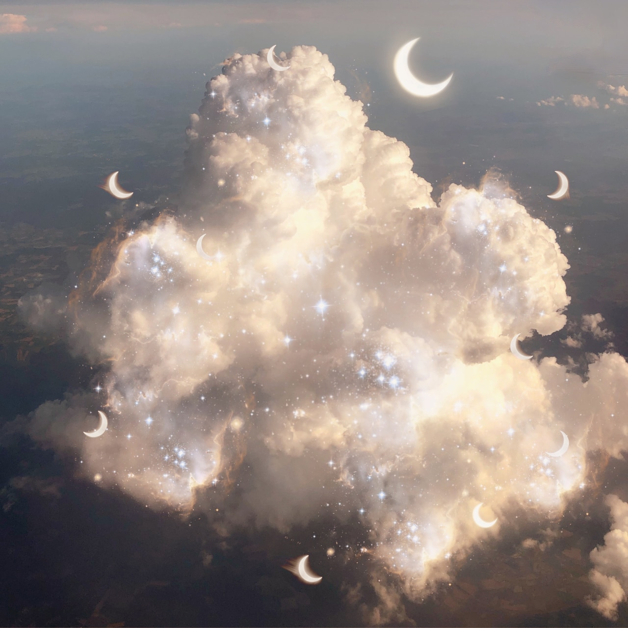 article, chill, and clouds image