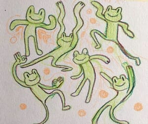 aesthetic, frog, and soft image