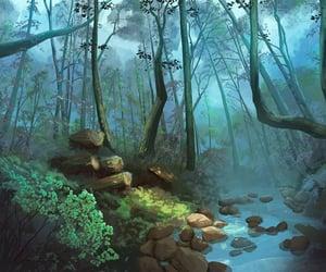 digital art and woods image