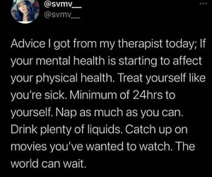 illness, mental health, and reminders image