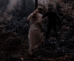 autumn, dark academia, and dark image