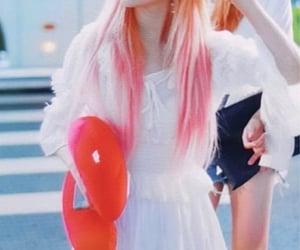 idol, pink hair, and lq image