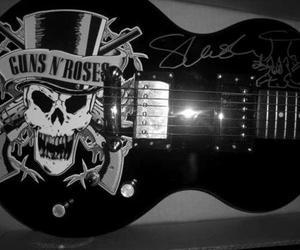 guitar and Guns N Roses image
