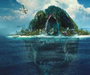 agua, aqua, and Island image