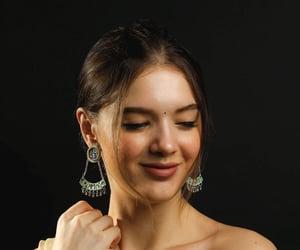 earrings, silver, and handmade image
