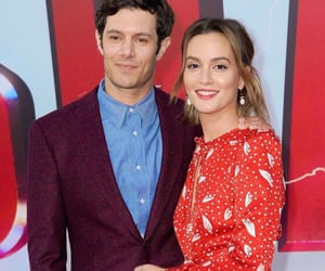 adam brody and leighton meester image