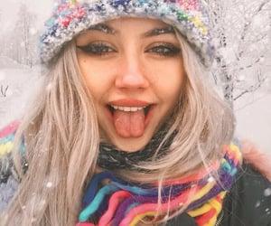 aesthetic, aesthetics, and snow image