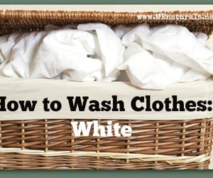 me natural and how to wash clothes image