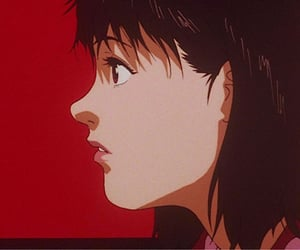90s, anime, and perfect blue image