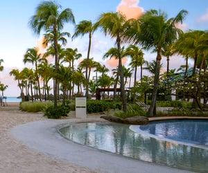 Caribbean, aruba, and beach vacation image