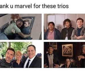 Avengers, iron man, and spiderman image