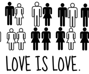 homosexuality, lgbt, and love is love image