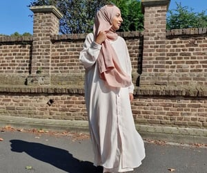 dress, hijab, and islam image
