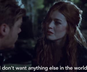 clary fray, gif, and clary and jace image