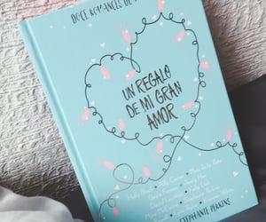 amor, azul, and libros image