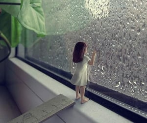 art, rain, and astrophe image