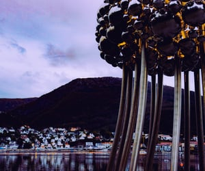 autumn, bergen, and norway image