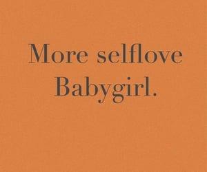 baby, self love, and selflove image