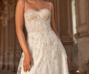 ball gown, beautiful, and gown image